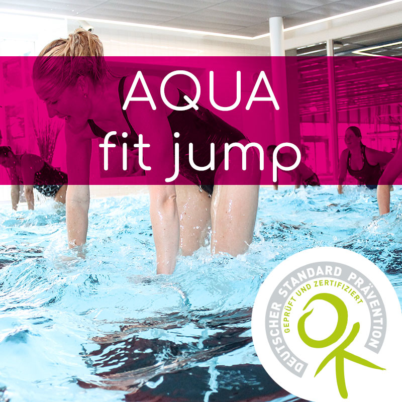Akademie für Prävention & Fitness ZUSATZqualifikation AQUAfit jump
