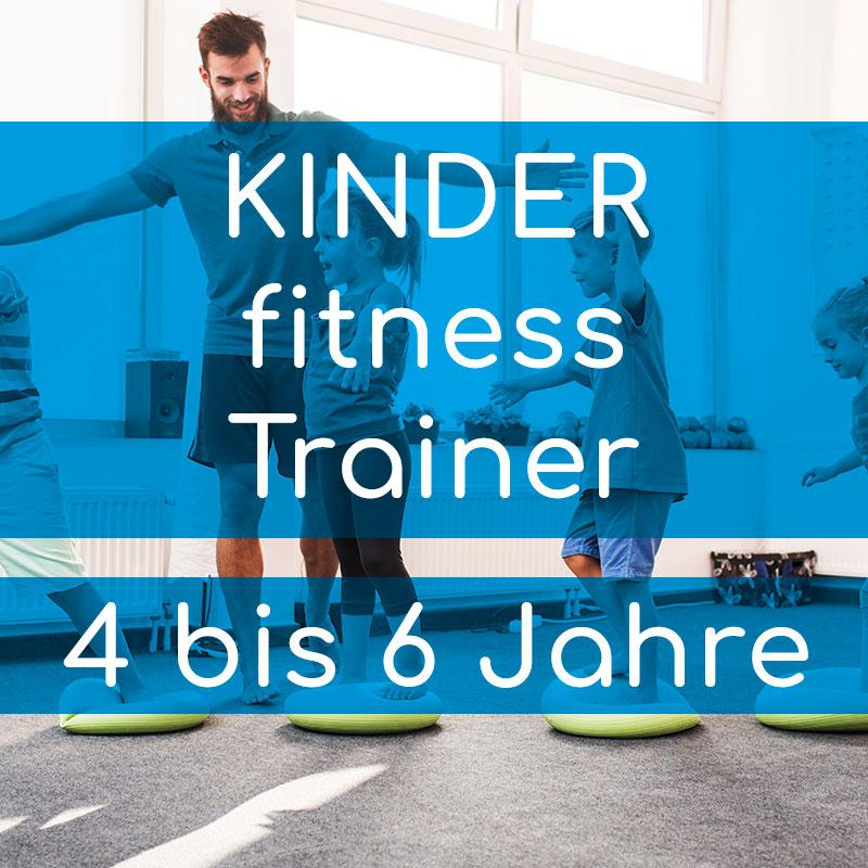 Akademie für Prävention & Fitness BASICqualifikation KINDERfitness Trainer 4 bis 6 Jahre